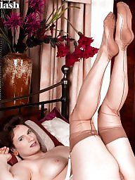 Girdle, Nylons, Nylon stockings, Girdle stockings