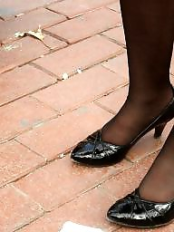 Nylon feet, Nylons, Feet
