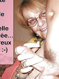 Captions, Cuckold captions, Cuckold, French, French mature, French caption