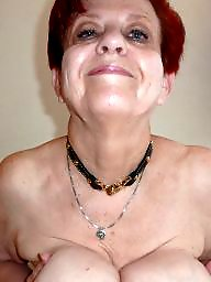 Granny, Slave, Boobs, Granny bdsm, Mature slave, Granny boobs