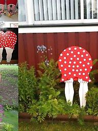 Garden, Swedish, Stocking asses