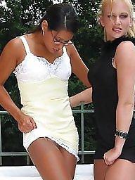 Heels, High heels, Teen ass, Teen stockings, High, Teen girls