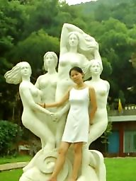 Chinese, Public nudity, Chinese woman
