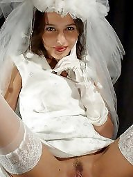 Bride, White panties, Panty, Married, Upskirt ass, White