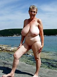Mature beach, Beach, Beach mature, Mature tits, Show, Beautiful mature