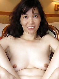 Chinese, Armpits, Armpit, Hairy armpits, Asian milf, Hairy asian