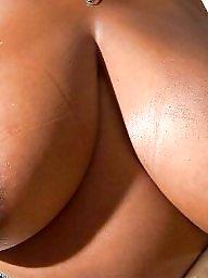 Tits, Ebony amateur, Ebony tits