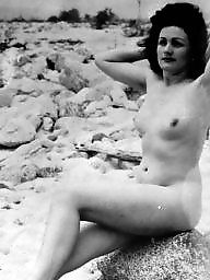 Vintage, Beach, Vintage amateur, Vintage amateurs, Ladies