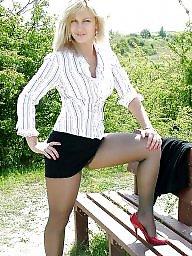 Legs, Leggings, Upskirt stockings