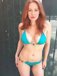Bikini, Redhead