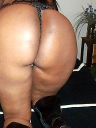 Ebony ass, Amateurs