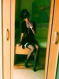 Lingerie, Heels, Teen stockings, Stockings heels, Amateur lingerie