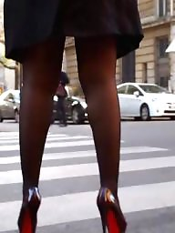 High heels, Heels, Hidden cam