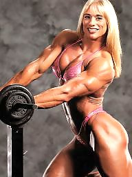 Retro, Muscle, Female, Muscled
