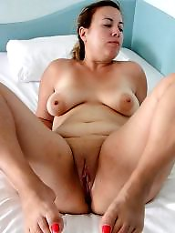 Mom, Fat mature, Fat, Chubby, Spreading, Cunt