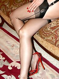 Mature legs, Mature stocking, Legs stockings, Crossed legs