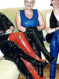 Latex, Rubber, Milf ass