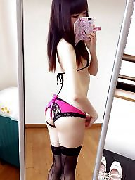 Student, Students, Amateur lingerie, Asian amateur, Goddess