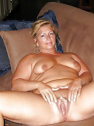 Mature wife, Amateur wife, Unaware