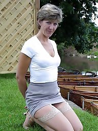 Uk mature, Stockings mature, Amateur stocking, Mature uk