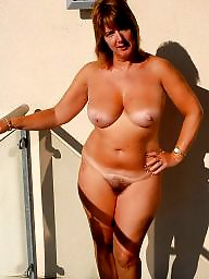 Hairy mature, Mature hairy, Nature, Mature women
