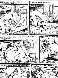 Cartoon, Young, Old cartoon
