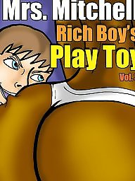 Interracial, Milf cartoon, Interracial cartoon, Milf cartoons, Boys, Interracial cartoons