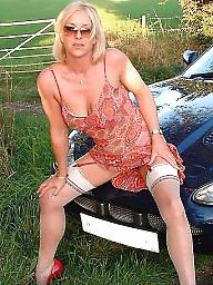 Upskirt stockings, Mature stockings, Mature stocking, Upskirt mature