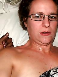 Sperm, Facial, Amateur blowjob, Amateur facials