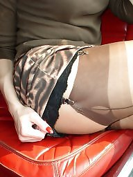 Nylon, Car, Upskirts, Stocking, Cars