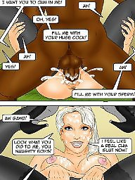 Cartoon, Cartoon interracial