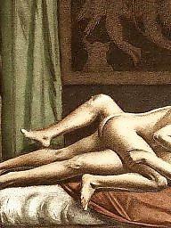 Vintage, Art, Erotic, Vintage cartoon, Cartoon sex, Sex cartoons