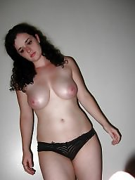 Busty milf, Pose, Mature amateur, Busty mature