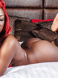 Ebony, Hair, Red hair