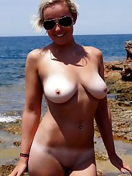 Beach, Wifes tits, Wife tits