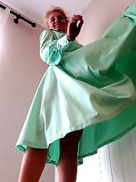 Vintage, Skirt, Dress, Milf upskirt, Milf upskirts, Upskirt milf