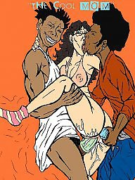 Interracial cartoons, Interracial cartoon, Drawings, Drawing, Draw, Cartoon interracial