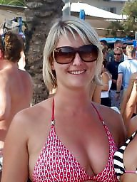 Beach, Uk mature, Holiday, Mature beach, Beach mature, Uk milf