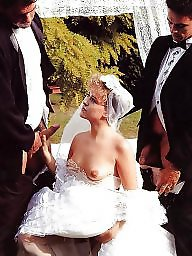 Bride, Orgasm, Dress, Wedding, Mature dress, Sexy dress