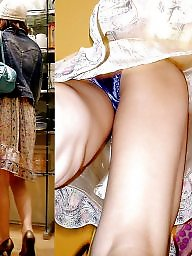Asian upskirt, Upskirt asian