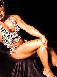 Mature, Milf, Bodybuilder, Female