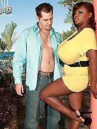 Monster, Ebony pornstar, Monster tits, Monster boobs, Ebony big tits, Black big tits