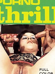 Retro, Magazine, Magazines, Hairy vintage, Vintage sex