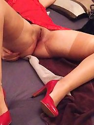 Nylon, Footjob, Nylon stockings