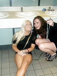 Toilet, Bitch, Posing, Toilet teen
