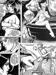 Comics, Comic, Cartoons, Vintage, Bdsm cartoon, Cartoon bdsm