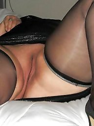 Spreading, Spread, Bbw stockings, Bbw spread, Shaved, Bbw spreading