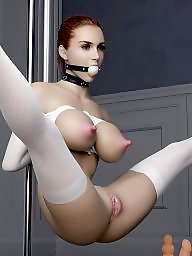 Bondage, Cartoons, Girl, Slave, Sex cartoons, Slaves