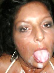 Facial, Mature facial, Amateur, Face