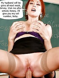 Teacher, Captions, Milf captions, Caption, Mature captions, Milf caption